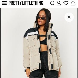 Pretty little thing Puffer jacket